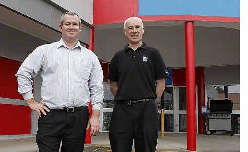 Jason Grieve (left) and John Marron will head the new team.