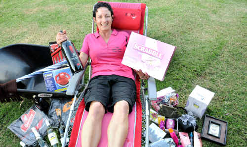 Leisa Hehir has organised a fun Girls Night In at the Gympie RSL from 6.30pm on October 29.