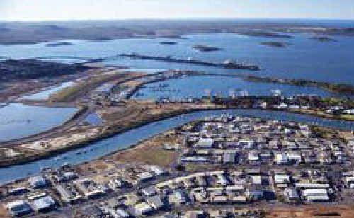LNG Ltd's Fisherman's Landing project is still in limbo as talks with prospective gas supplier Bow Energy Ltd broke down.
