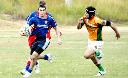 A six-week under-18s rugby union competition is being held, and GRUFC want to get a Gladstone team together.