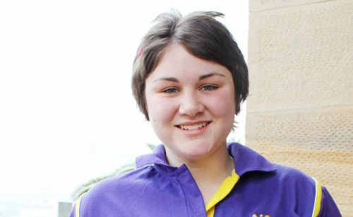 Ashleigh McArthur has been selected to attend the Queensland Youth Forum next week.