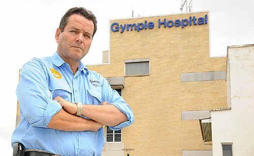 STOP WORK: QPSU organiser Ron Fossen said health practitioners were set to go on work bans.