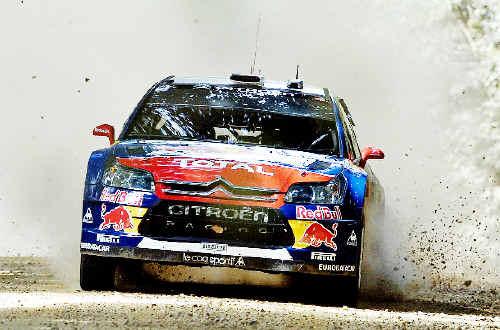 Five time world champion Sebastien Loeb has won the first Repco Rally Australia with teammate Daniel Elena.