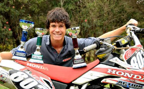 He may only be competing seriously in endurance motorbike racing for the first time this year, but this hasn't held Peter-Daniel Allan from clinching the Queensland Enduro Championship a fortnight ago.
