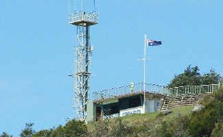 Historic vote: The headquarters of the Evans Head coastguard, overlooking the coastline at Razorback Lookout in Evans Head. All the State's marine rescue services could come under a single organisation following a vote by members next month.