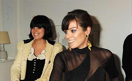 Lily Allen and Sarah Owen.