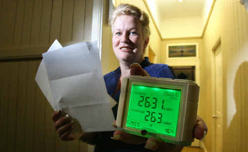 Leanne Cawthorne has saved money on her energy bill since implementing the Climate Smart program a year ago.