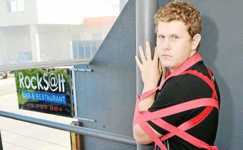 Jason Faint, co-owner of Rocks@lt Bar and Restaurant, feels tangled in red tape.