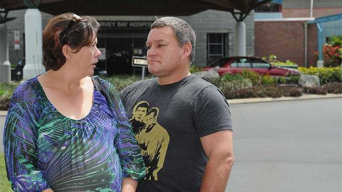 Melissa and Pat Heaton could not believe Melissa's planned caesarean was cancelled minutes before the procedure.
