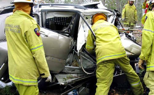 A member of the band After Hours and his partner died in this crash on Sunday.