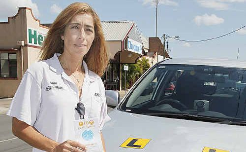 Driving instructor Anat McDonald says the keys2drive progam is a great lesson for parents teaching their children.