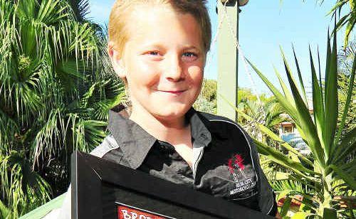 Brodie Matt came 5th in the Australian Junior Motocross Championships at Lake Macquarie.