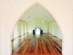 Sneak peek inside Cowper church