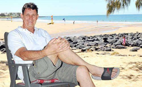 Bargara man Kerry Short loves his coastal lifestyle.