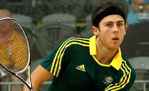 Lismore-born Ryan Cuskelly's singles run in squash in Delhi was stopped by Yamba's Cameron Pilley. But Cuskelly will team up with Pilley in the doubles next week.