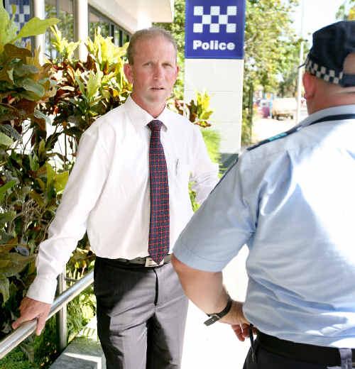 Queensland Police Union president Ian Leavers.