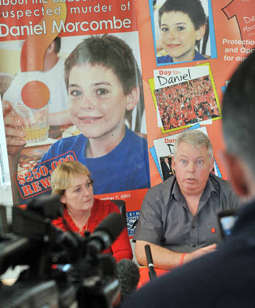 The Morcombe's held a press conference to make some announcements regarding the coronial inquest into Daniel Morcombe's disappearance.