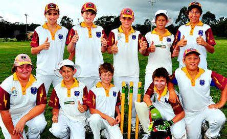 The successful Tewantin Noosa Thunder under-14 team.