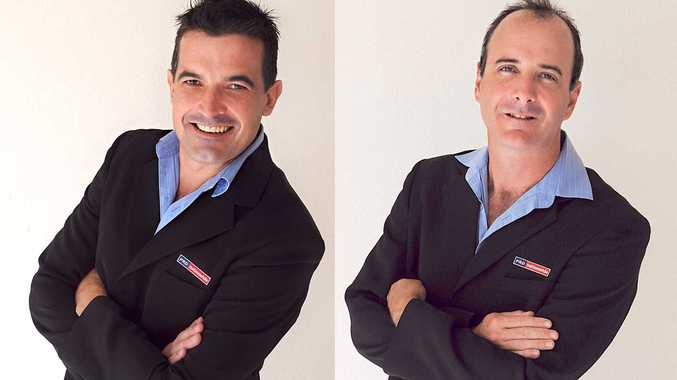 Rob Taylor (left) is the new CEO of PRD Nationwide Whitsunday. Christie Leet (right) is the new Project Marketing Manager of PRD Nationwide Whitsunday.