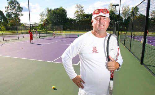 Tennis Ipswich president David Glinster