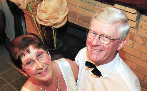 Margaret and David Humphries are keen to start dancing at the Carlyle Gardens Debutante Ball.