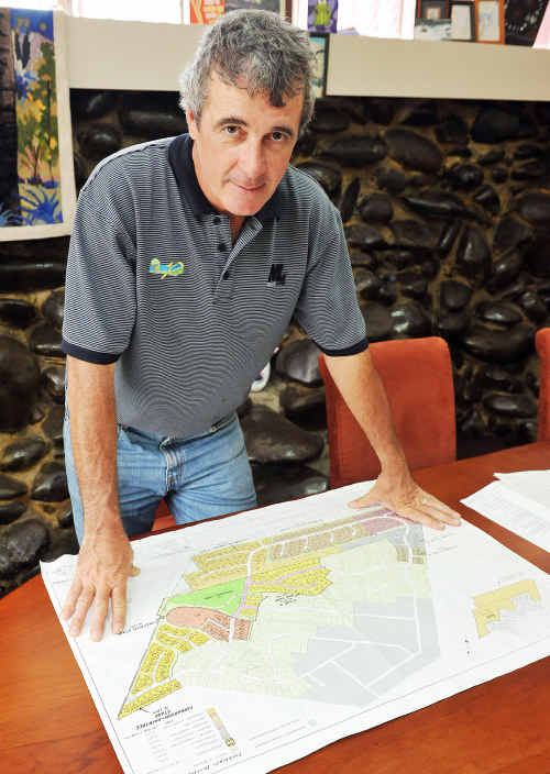 Bill Moorhead is angry that an out of town firm got a big council contract.