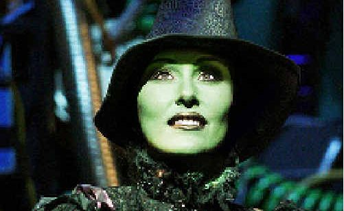 Elphaba the Wicked Witch of the West.