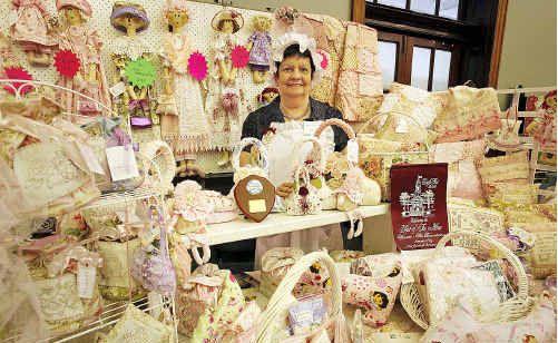 Rose Carleton of Gladstone won the Best Presentation award for her stall at Maryborough CraftFest.