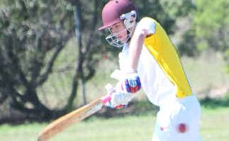 Skipper: Gladstone State High's Josh Hall captained the under-19 Capricornia side at the Secondary School Championships.