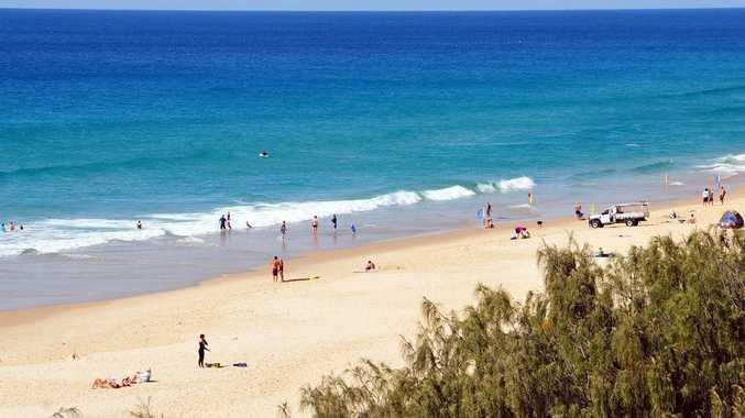 Sunshine Beach on the Sunshine Coast.