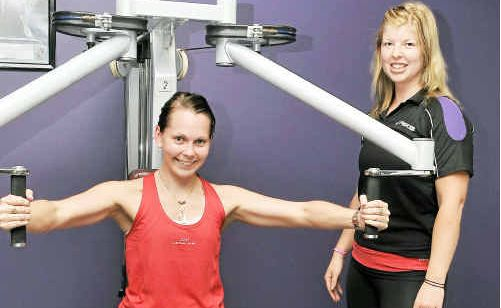 Figures Health and Fitness personal trainers Natasha Askin and Katie Reardon said exercise decreases stress hormones.