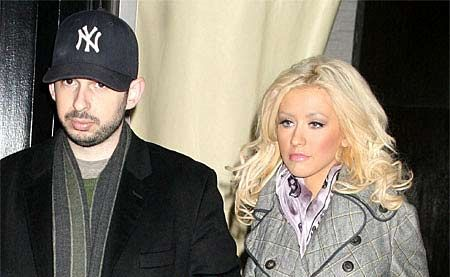 Singer Christina Aguilera, 29, announced she was ending her five-year marriage to music executive Jordan Bratman in October.