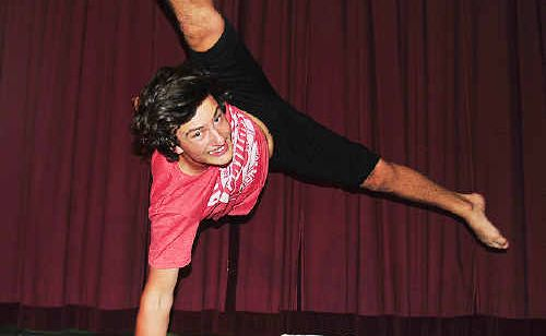 Year 12 student Danny Hindmarsh has been accepted to study dance at the Queensland University of Technology.
