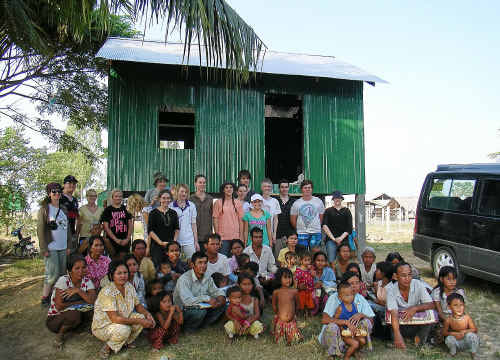 Bishop Druitt College students will return in December to the Sunrise Children's Village on the outskirts of Phnom Penh. Submitted