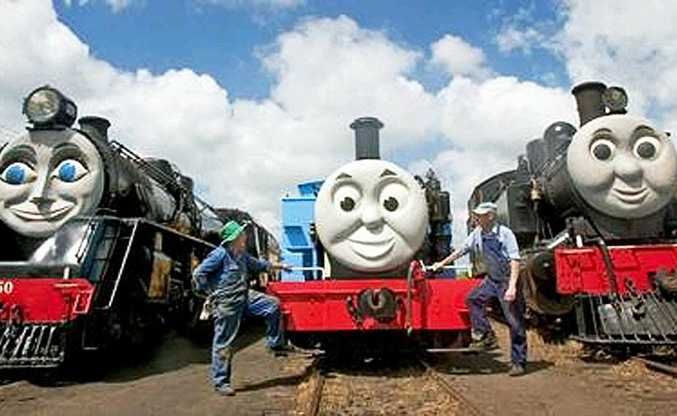 Holidaying with kids is far from a hassle at Glenbrook Station, NZ, thanks to a real life Thomas the Tank Engine.