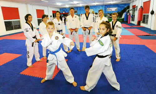 ASP Taekwondo students Jessica Borg, Xelinne Ryan-Andrews, Jeremy O'Conner, Majella Owens, Maddison Rejtano, Kailen Berthelsen and Xander, Carla and Arne Huysamen, will all be competing in the Australian Open titles this weekend in Canberra.