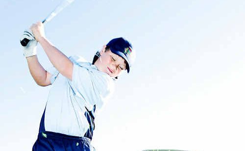 Coffs Harbour golfer Jack Pountney.
