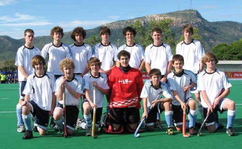 The St Mary's College boys' hockey team.