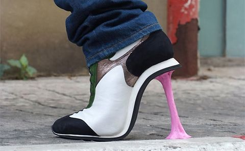 Shoes like you've never seen them before.
