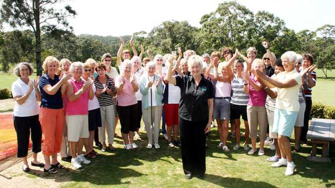 Marilyn 'Maz' Meisel says farewell to Byron Bay Golf Club.