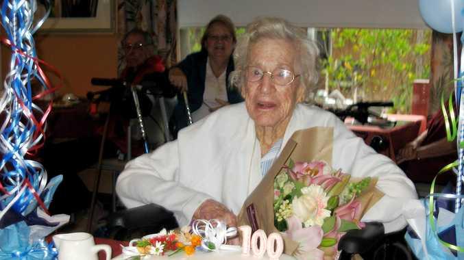 Residents and staff at Feros Village helped Dot celebrate her landmark birthday.