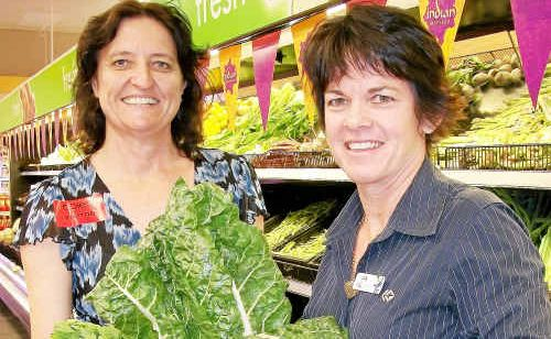 Kathy Hansen and Judy Adsett are aiming to establish the FOODcents program across the region.