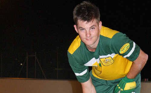 Mackay Mustangs roller hockey player Bevan Hurley will represent Australia at the Senior Men's B Roller Hockey Championships in Austria this weekend.