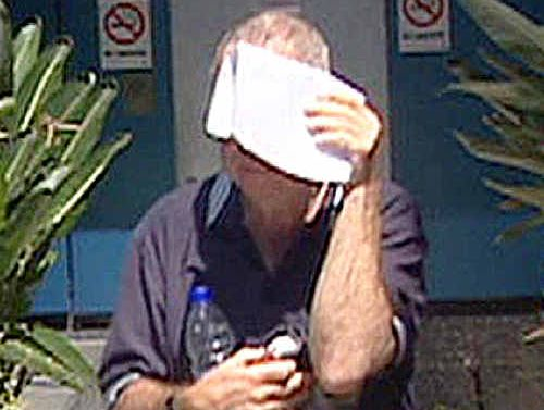 Convicted pedophile school teacher Gerard Byrnes leaves the Toowoomba Watch house after his arrest in November, 2008.