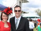 Sian Bloor and Angus McLennan looking sensational at the Clifton Races