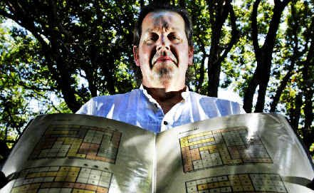 Brain teasers: Stephen Jones, of Muddled Puzzles, is set to challenge people's brain power with his latest creation of Sudoku-style puzzles called Arithmions and Pandemonions.