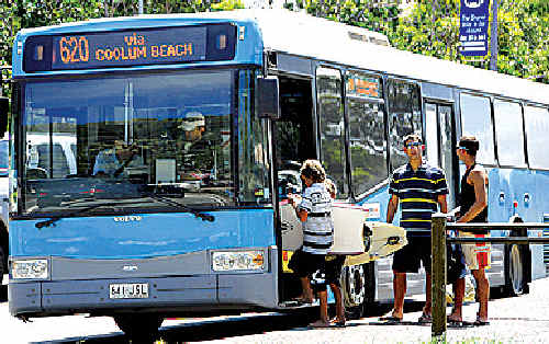 Free buses will be available to and from Mooloolaba on for the New Year's celebrations.