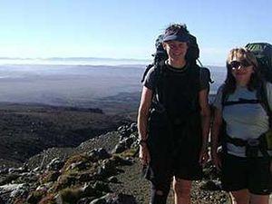 Escape civilisation at Tongariro