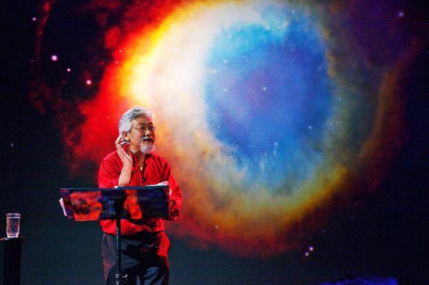 Environmentalist Dr David Suzuki.