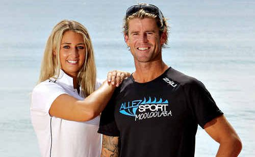 Gemma Newbiggin and Rhys Drury have been voted the sexiest sports start on the Sunshine Coast.
